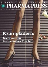 Krampfadern: - Internationale Apotheke Wien
