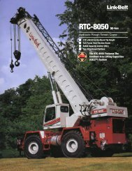RTC-8050 50-ton - Link-Belt Construction Equipment
