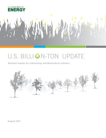 U.S. Billion-Ton Update: Biomass Supply for a Bioenergy and ...