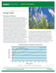 U.S. Billion-Ton Update: Energy Crops - EERE - U.S. Department of ...