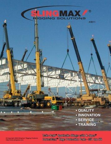 Twin-Path® Synthetic Slings with K-Spec® CornerMaxTM Edge ...