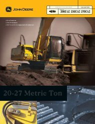 20-27 Metric Ton - John Deere