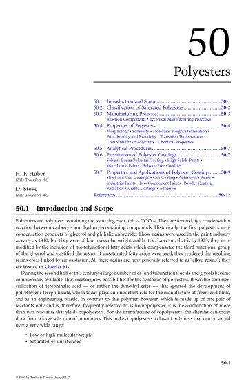 COATINGS TECHNOLOGY HANDBOOK, Third Edition