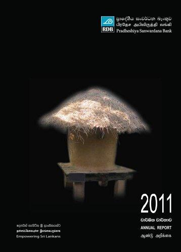Annual Report 2011 - The Parliament of Sri Lanka