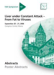 Liver under Constant Attack – From Fat to Viruses - Dr. Falk Pharma ...