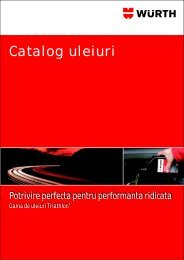 Catalog uleiuri - Wurth Romania