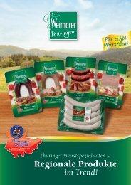 Regionale Produkte - Weimarer Wurstwaren GmbH