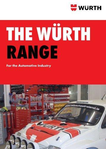 For the Automotive Industry - Würth Ireland Ltd.