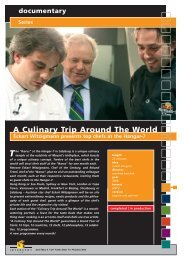 A Culinary Trip Around The World - Interspot Film