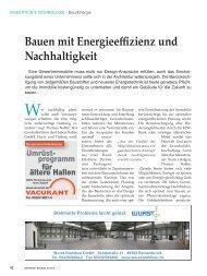 Bauen mit Energieeffizienz und Nachhaltigkeit - Hubert Nabbe GmbH