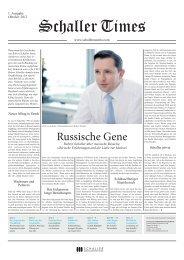 Russische Gene - schaller lebensmitteltechnik