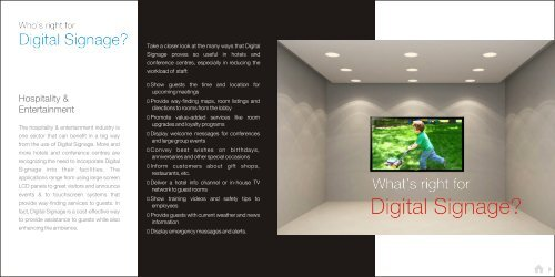 Digital Signage - Sony