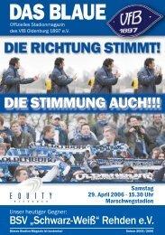 VDB - VfB Oldenburg
