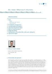 Dr. med. Marcus F. Kuntze - Cura Bern