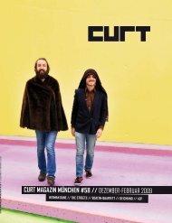 curt magazin münchen #58 // DEZEMBER-FEBRUAR 2DD9