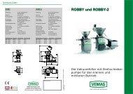 ROBBY und ROBBY-2 - Fleischereimaschinen Hauenstein GmbH