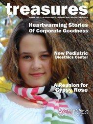 Treasures - Summer 2009 - Children's Mercy Hospitals and Clinics