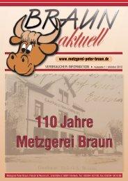 Seit über 30 Jahren bei der Metzgerei Braun Seit über 30 Jahren bei ...