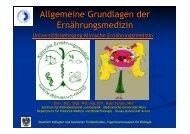 Allgemeine Grundlagen der Ernährungsmedizin - Facharztpraxis ...