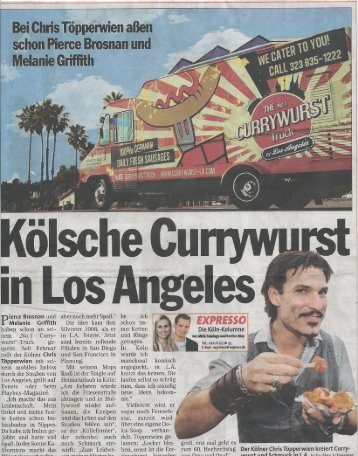 Kolumne - The No.1 Currywurst Truck of Los Angeles