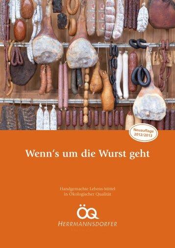 Wenn's um die Wurst geht - Herrmannsdorfer Landwerkstätten
