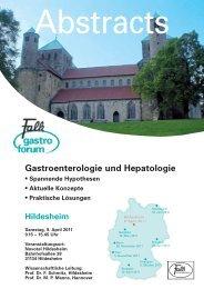Gastroenterologie und Hepatologie - Dr. Falk Pharma GmbH