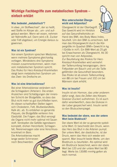Das metabolische Syndrom - Walnuss.de