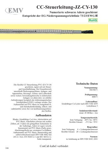 CC-Steuerleitung-JZ-CY-130 - ConCab kabel gmbh