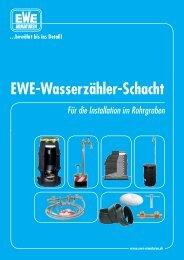 bewährt bis ins Detail! EWE-Wasserzähler-Schacht