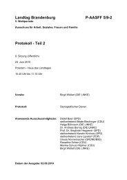 Landtag Brandenburg P-AASFF 5/9-2 Protokoll - Teil 2