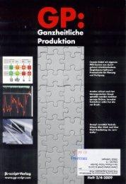 Ganilieitliche - CHIRON Werke GmbH & Co. KG