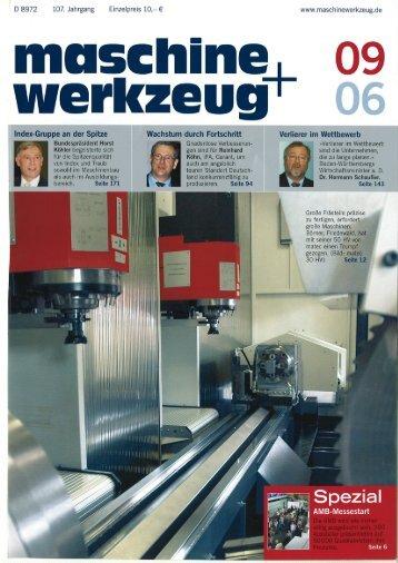 Maschine + Werkzeug - September 2006 - Klein & Coll.