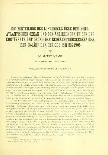 Denkschriften - sterreichische Akademie der Wissenschaften
