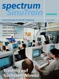SinuTrain - Siemens Automation and Drives Group