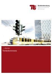 Verkehrswesen - Allgemeine Studienberatung an der TU-Berlin