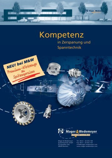 NEU! bei M&W - Mager & Wedemeyer