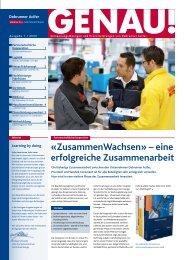 GENAU! Präzisionswerkzeuge Ausgabe 1/2009 ... - Debrunner Acifer