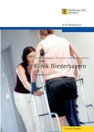 Klinik Niederbayern - Kurkliniken.de