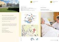 Flyer Bundesfreiwilligendienst, PDF-Version, 0,4 MB - Klinik Tettnang