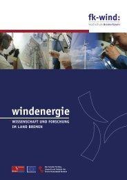 Windenergie - Wissenschaft und Forschung in Lande Bremen