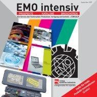 EMO intensiv Informieren Sie sich direkt - Produktion