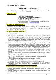 WARUNKI ZAMÓWIENIA - Państwowa Inspekcja Ochrony Roślin i ...