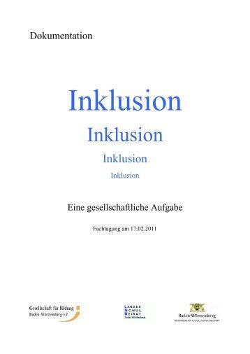 Inklusion - Karlsruhe