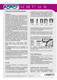 Bearbeitung von Schichtstoff-Kompaktplatten - Karat