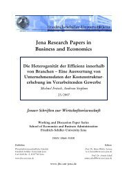 Jena Research Papers in Business and Economics Die ...