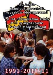 20 Jahre Schulpartnerschaft Wyszków-Moormerland 20 lat ...