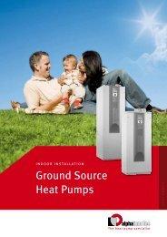 Ground Source Heat Pumps - Alpha-InnoTec GmbH