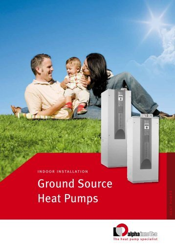 Ground Source Heat Pumps - Alpha-InnoTec GmbH