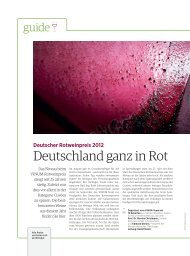 Deutschland ganz in Rot - Deutscher Rotweinpreis 2012