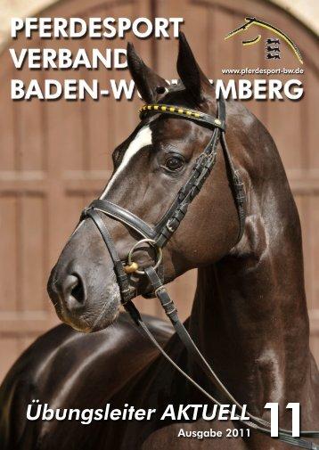 Ausgabe 11/2011 - Württembergischer Pferdesportverband eV